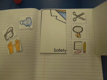 Interactive Notebook Science: Safety Tools (Spanish and English)