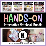 Interactive Notebook Kindergarten Common Core Bundle with Scaffolded Notes