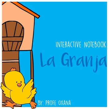 SPANISH Cuaderno interactivo: La Granja - Interactive Notebook: The Farm
