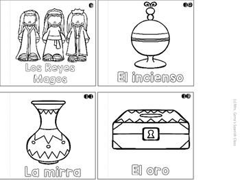 SPANISH Interactive Notebook: La Navidad {The Nativity} ESPAÑOL