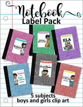 Interactive Notebook Label Pack