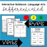 Interactive Notebook Language Arts - Verbs