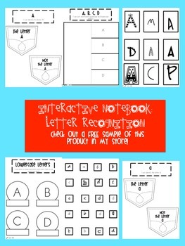 Interactive Notebook Letter Identification