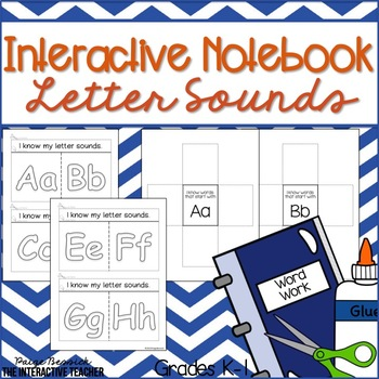 Letter Sound Practice: Interactive Notebook