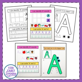 Interactive Notebook - Letters and Sounds