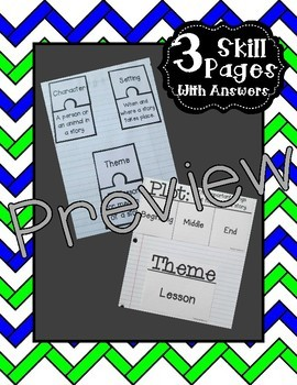 Interactive Notebook - Literary Elements