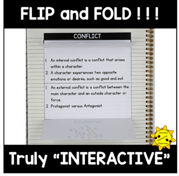 Interactive Notebook: Literary Elements - Confict
