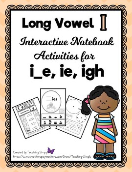 VOWELS - Interactive Notebook - Long Vowel i - RTI
