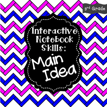 Interactive Notebook - Main Idea