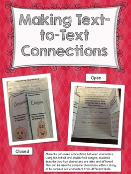 Interactive Notebook Making Connections Comprehension Strategy