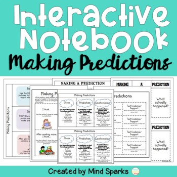 Interactive Notebook (Making Predictions Pages)