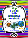 Interactive Notebook - Map and Globe Skills (Social Studies)