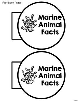 Interactive Notebook- Marine Animals