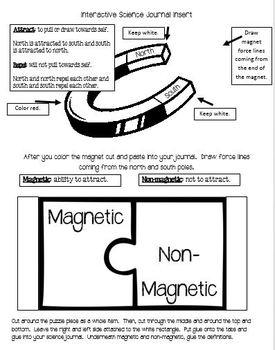 Interactive Notebook: Matter