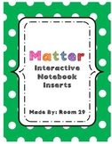 Interactive Notebook: Matter
