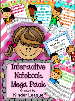 Interactive Notebook Mega Pack by Kinder League