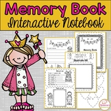 End of Year Memory Book First grade :Interactive Notebook