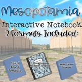 Interactive Notebook-Mesopotamia