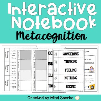 Interactive Notebook (Metacognition--Thinking about thinki