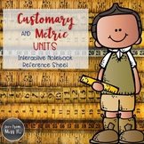 Interactive Notebook: Metric and Customary Conversion Charts