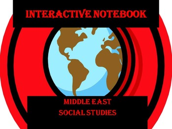 Interactive Notebook: Middle Eastern Countries