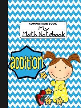 Interactive Notebook Mini: Addition