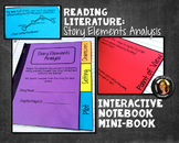 Interactive Notebook Mini Book: Story Elements Analysis