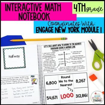 Interactive Notebook Module 1- 4rd Grade Engage New York