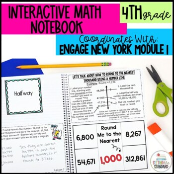 Interactive Notebook Module 1- 4rd Grade Engage New York Math