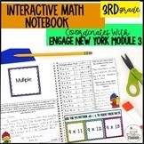 Interactive Math Notebook Grade 3 Module 3 Engage New York