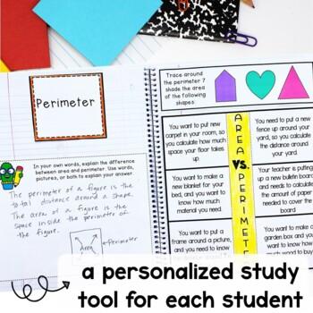Interactive Math Notebook Grade 3 Module 7 Engage New York