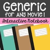 Movie Study Interactive Notebook Novel Unit Study Activities, Book Report