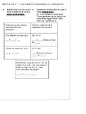 Interactive Notebook (Multiplicative Comparison)
