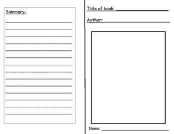 Interactive Notebook Novel Study