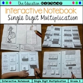 Multiplication Interactive Notebook and Worksheets for November