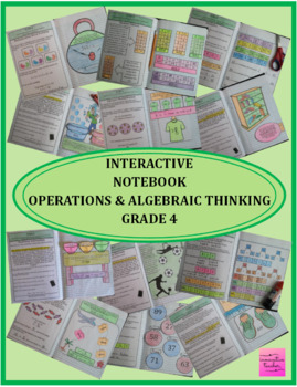 Interactive Notebook Operations and Algebraic Thinking Grade 4