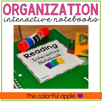 Interactive Notebook Organization