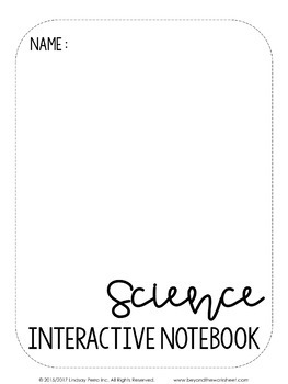 Editable Interactive Notebook Templates