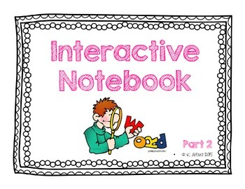Interactive Notebook {Orton Gillingham Inspired} - No Prep . Part 2