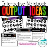 Interactive Notebook Output Ideas
