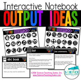 Interactive Notebook Output Ideas