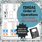 Interactive Notebook (INB) PEMDAS Graphic Organizer