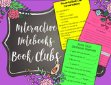 Interactive Notebook Pages for Book Clubs