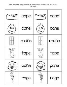 Interactive Notebook Pages for Long Vowels