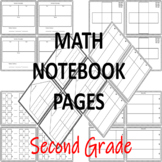 Interactive Notebook Pages for MATH