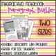 Interactive Notebook Paragraph Builder {Any Subject}