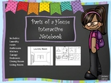 Interactive Notebook Parts of a House
