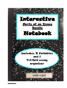 Interactive Notebook Bundle: Parts of an Essay