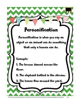 Personification Lesson Grades 2-5