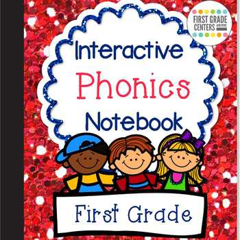 Interactive Phonics Notebook For First Grade By First Grade Centers